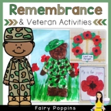 Remembrance Day, Veterans Day & Anzac Day Activities