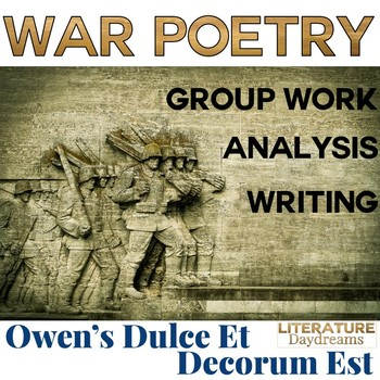 Veterans Day and Remembrance Day War Poetry Bundle