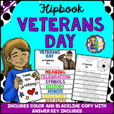 Veterans Day Research Flipbook (All About Veterans Day Celebration & Activities)