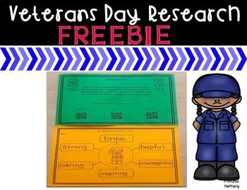 Veterans Day Research Freebie