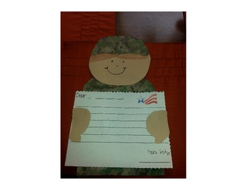 Veteran's Day Response Sheets and Craft