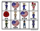 "Veteran's Day ""Roll, Say, Keep!"" Primer Dolch Sight Word Center + Extra"
