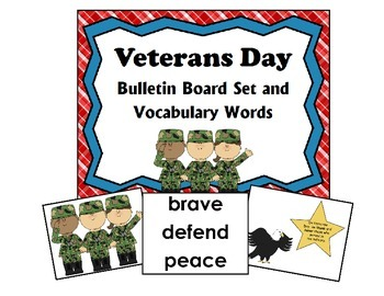 Veterans Day SUPER Saver BUNDLE - 10 files in all!