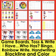 Veterans' Day Sight Word Games EDITABLE: Auto Fill by Typing Once! Patriotic