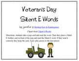 Veterans Day Silent E CVCE Word Game