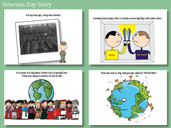 Veterans Day Social Studies - History Pre-K and Kindergarten