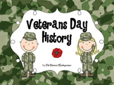 Veterans Day Social Studies - History Pre-K and Kindergarten
