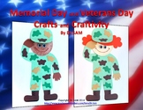 Memorial and Veterans Day Crafts and Craftivity: Soldiers