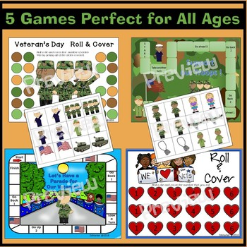 Veterans Day Speech Therapy Printable Pack