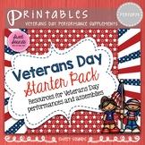 Veterans Day Starter Pack - Bulletin Board