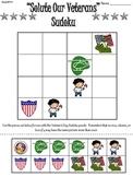 Veteran's Day Primary Sudoku