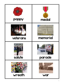 Veterans Day Syllable Sort: Grades 1-2