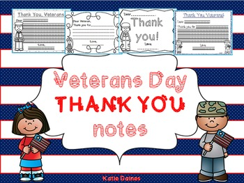 Veterans Day THANK YOU NOTES!