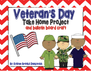 Veterans Day Take Home Project and Bulletin Board