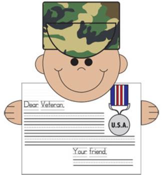 Veteran's Day Thank You Craftivity