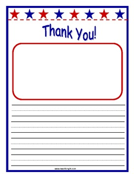 Veterans Day Thank-You Letters