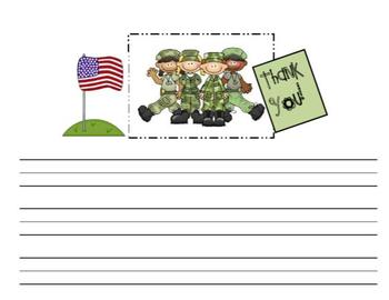 Veteran's Day Thank You Template