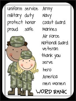 Veteran's: Thank You for Your Service!