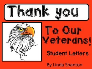 Veteran's Day - Thank you Letters