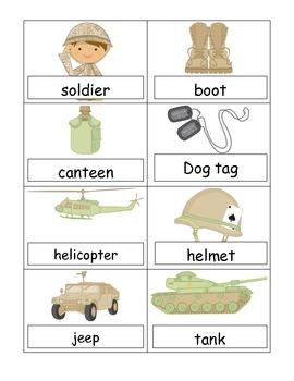 Veteran's Day Themed Activities