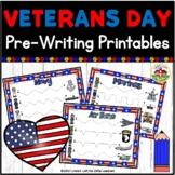 Veterans Day Tracing Printables