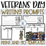 Veterans Day Writing Tasks