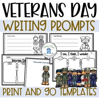 Veterans Day USA - Writing