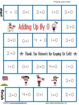 Veteran's Day-USA addition  games