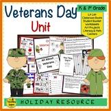 Veterans Day Unit:  Activities & Centers