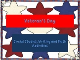 Veteran's Day Unit with Math, Literacy and Social Studies Activities