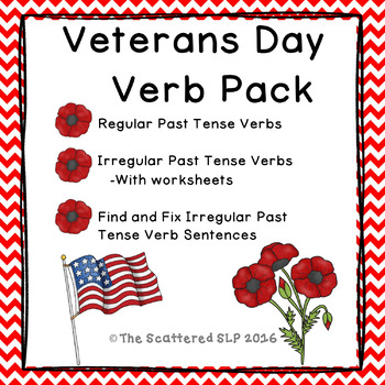 Veterans Day Verbs Pack