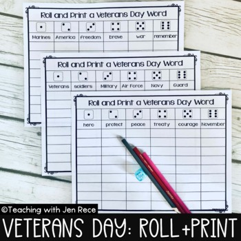 Veterans Day Dice Center