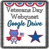 Veterans Day Webquest - Editable in Google Slides!