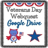 Veterans Day Webquest - Editable in Google Slides!