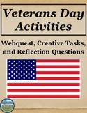 Veterans Day Webquest and Activities