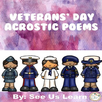 Veterans' Day Week Acrostic Poems