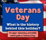 Veterans Day: What's the History behind this Holiday? (A g