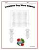 Veterans Day Word Search and Word Scramble - Two Word Puzzles!