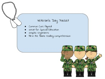 Veteran's Day Worksheet