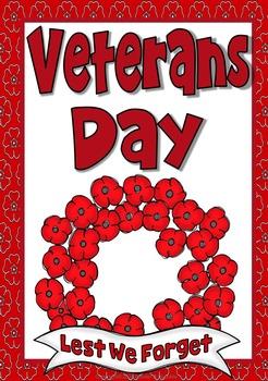 Veterans Day Wreath ~ Spinner Template