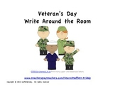 Veteran's Day Write Around the Room