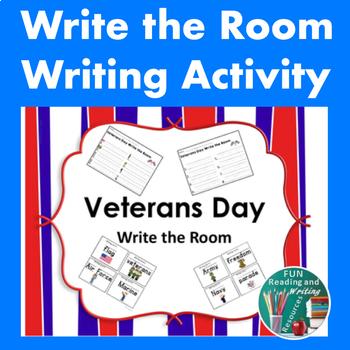 Veterans Day Write the Room