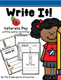 Veterans Day Writing Center Activities