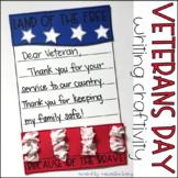 Veterans Day Writing Craftivity