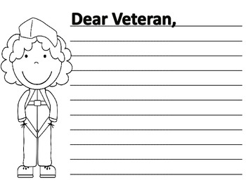 Veterans Day Writing Pages