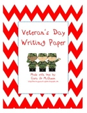 Veterans Day Writing Paper