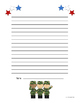 FREE Veteran's Day Writing Paper