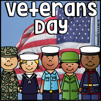 Veterans Day: Writing Papers, Bubble Maps and Prompts