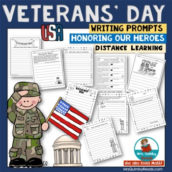 Veterans' Day | Writing Prompts | Honor Our Heroes