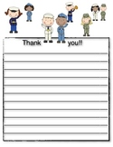Veteran's Day Writing Templates and Tree Map